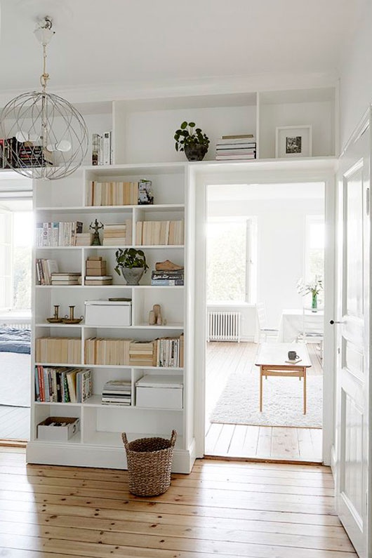 bright white living space styled by fantastic frank / sfgirlbybay