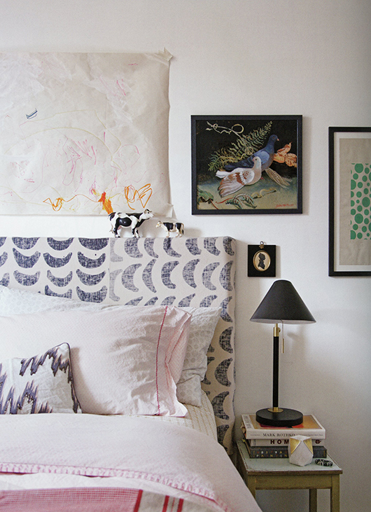 """bedroom inspiration from rebecca atwood's """"living with pattern"""". / sfgirlbybay"""