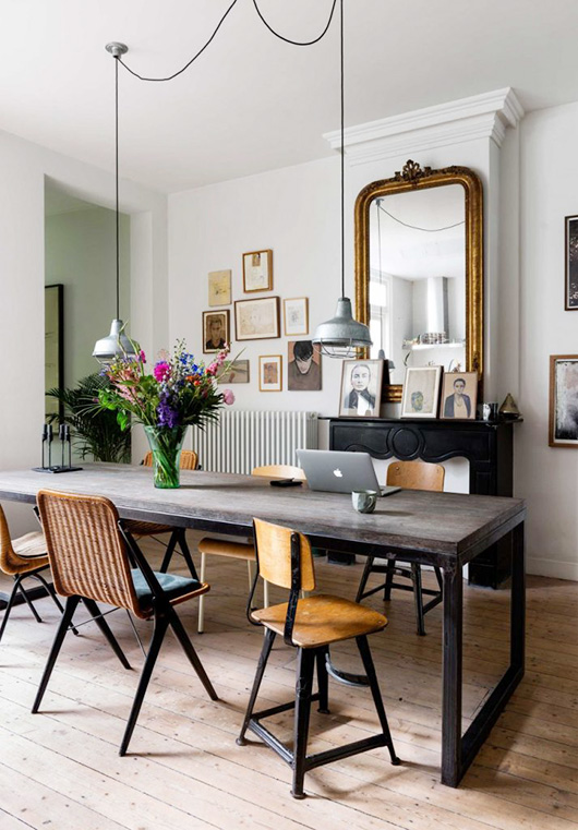artist's amsterdam home featured in vtwonen. / sfgirlbybay