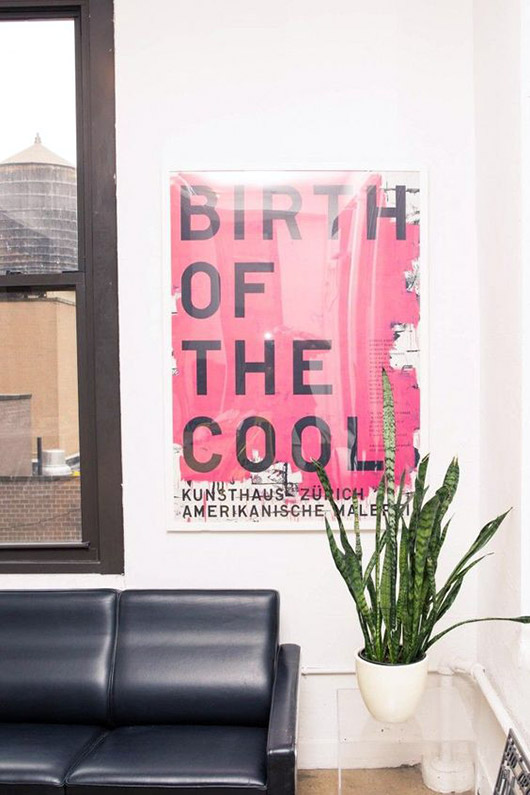 birth of cool print in pink and black. / sfgirlbybay