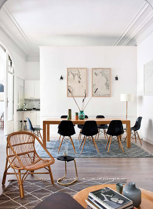 the home of A & B curated. / sfgirlbybay