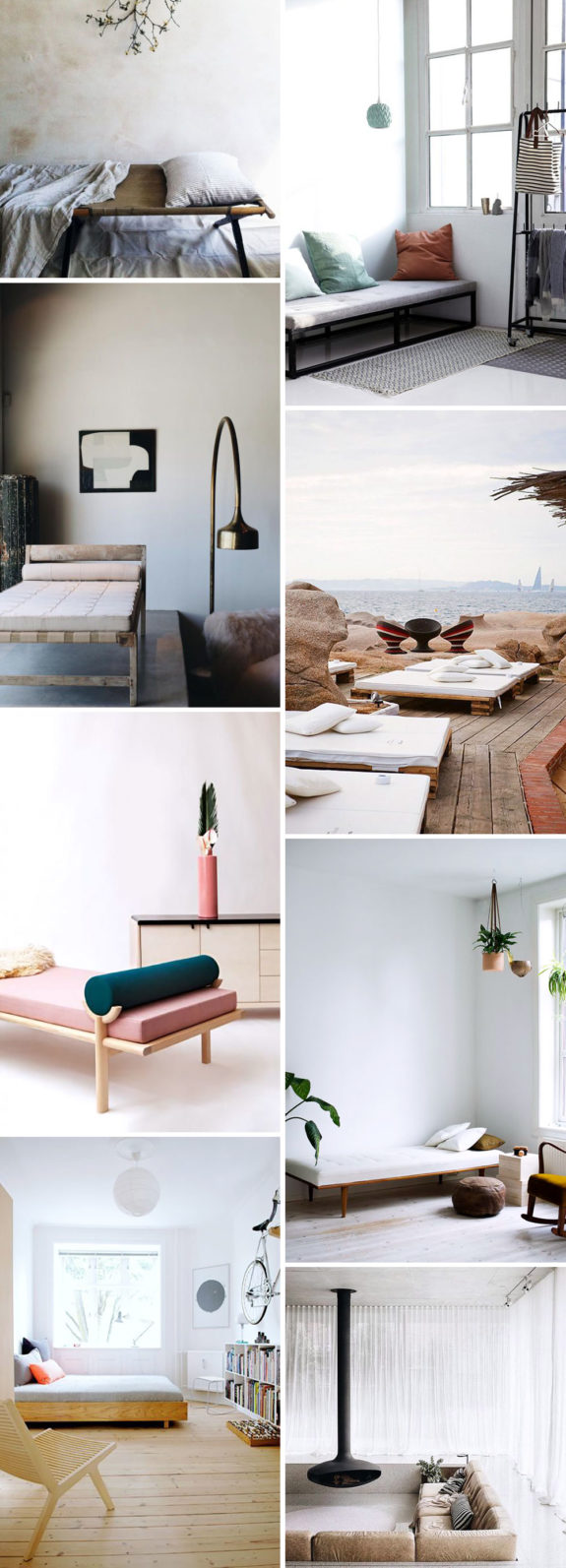 cots and daybeds. / sfgirlbybay