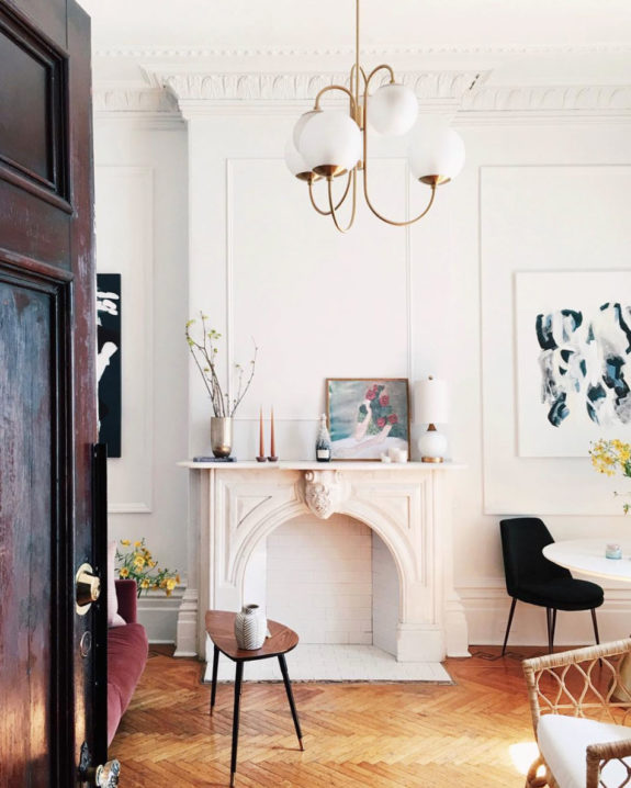 inspiring interior of blogger lauren maclean's montreal apartment. / sfgirlbybay