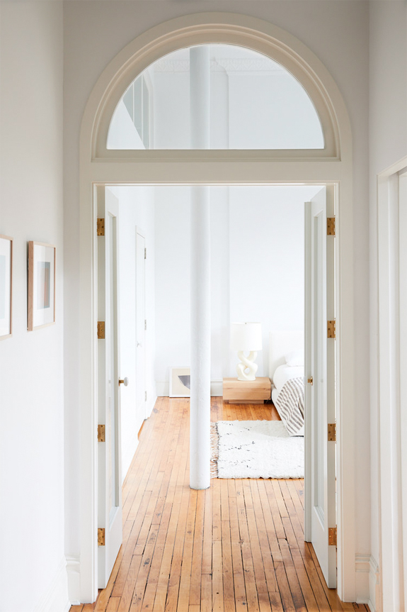 arched windows over french doors. / sfgirlbybay