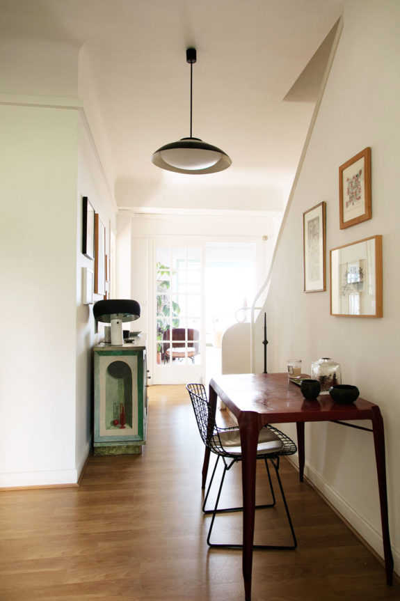 eclectic vintage furnishings in french home via the socialite family blog. / sfgirlbybay