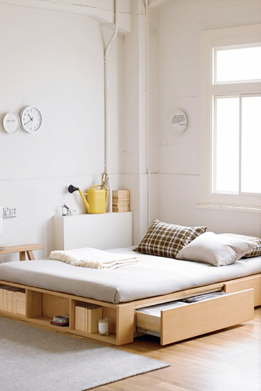 small space bed design