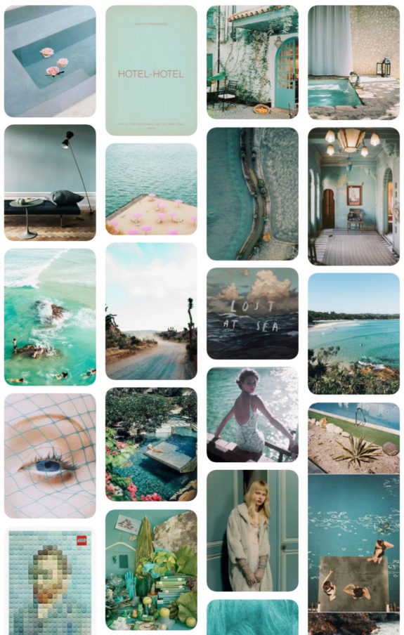 aqua blue pinboard on pinterest by victoria smith. / sfgirlbybay