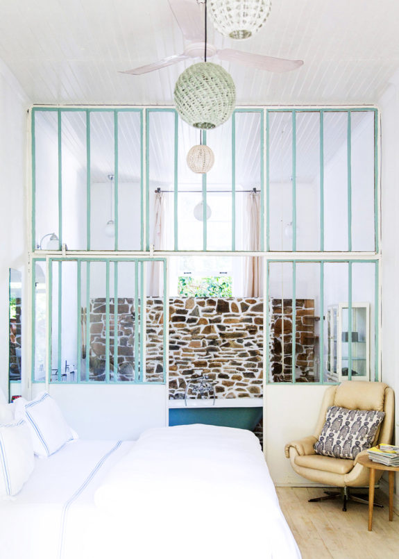 charming vintage-inspired guest room at La Grenadine, a chic boutique hotel in cape town, south africa. / sfgirlbybay
