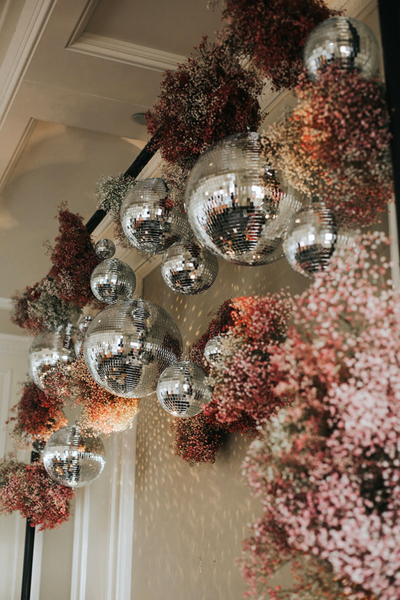 disco ball decorations / sfgirlbybay