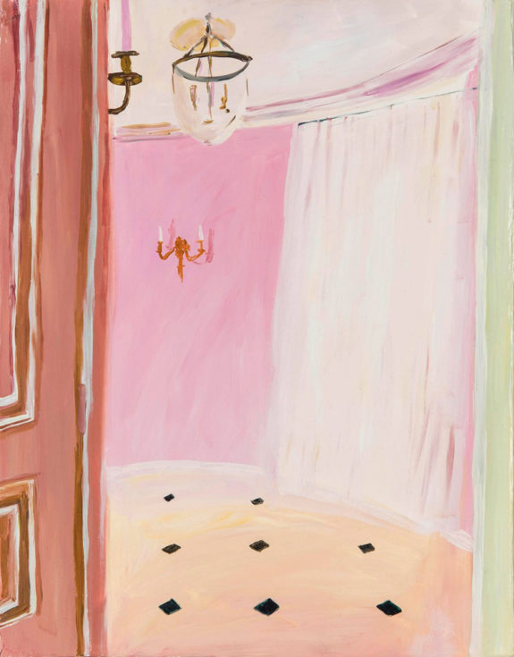 colorful paintings of interiors and decor. / sfgirlbybay