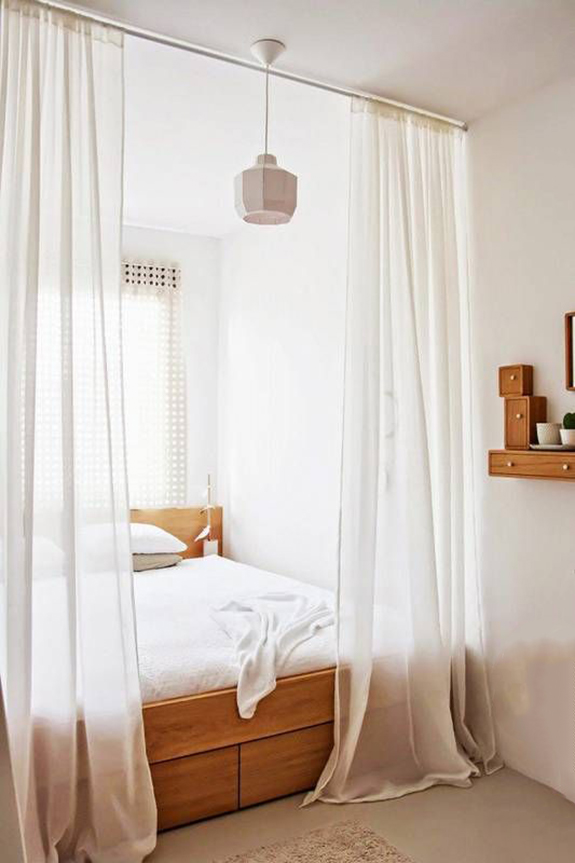 curtains and bedding. / sfgirlbybay
