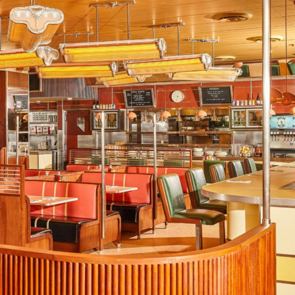 wear this there: soho diner nyc / sfgirlbybay